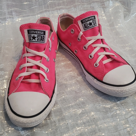 Converse Shoes | Hot Pink Sneaker Size